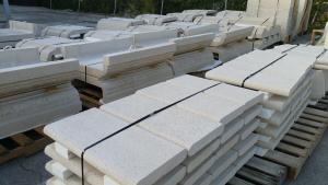 shipping of cast stone profiles palletized