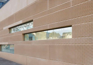 ornamental elements added to architiectural precast concrete panel