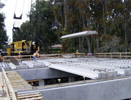 precast with composite rebar reinforcement