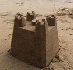 dry tamp cast stone sand castle