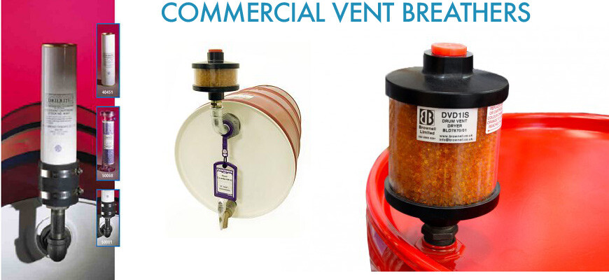 examples of commercial vent breather dryers commercially available