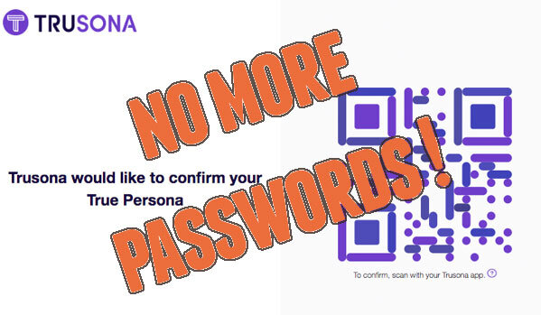 no more passwords