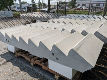 Precast Stairs Ready to Deliver